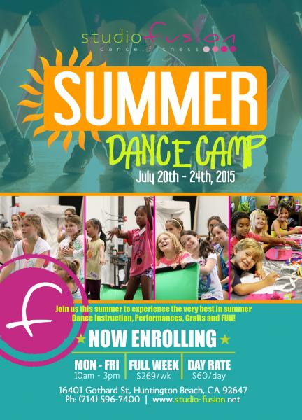Dance summer camps for kids